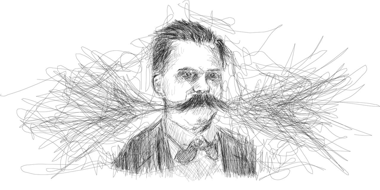 Philosopher Friedrich Nietzsche