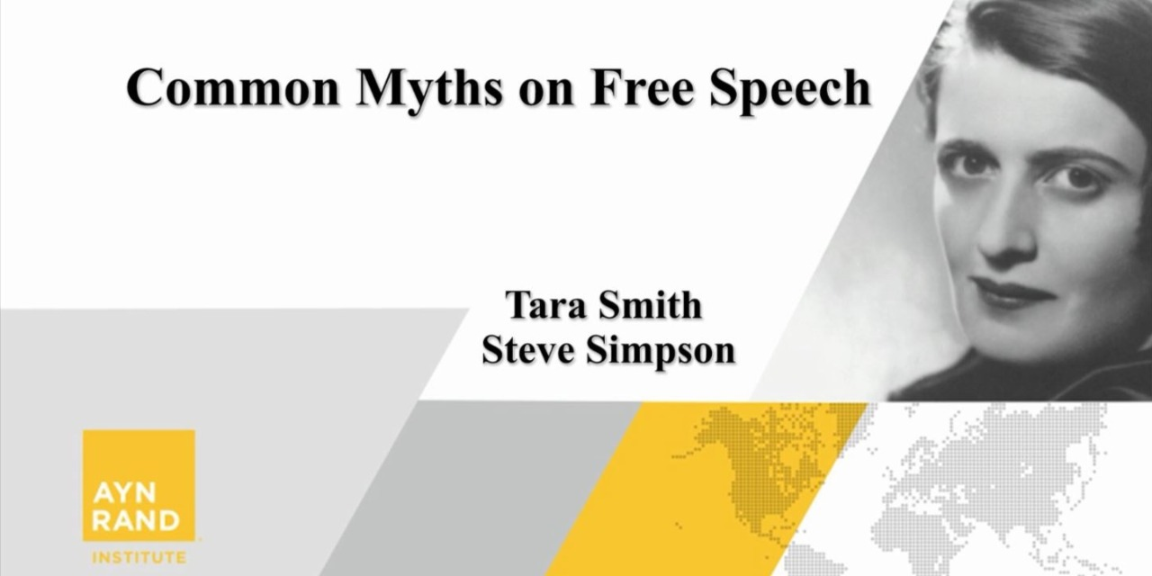Common Myths about Free Speech