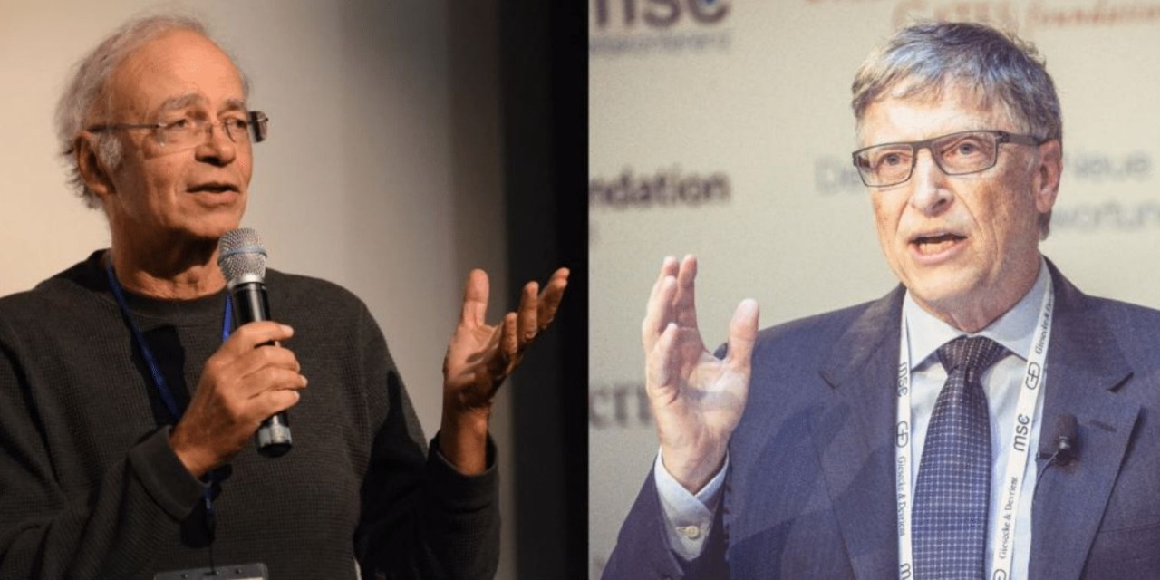 Peter Singer, Bill Gates