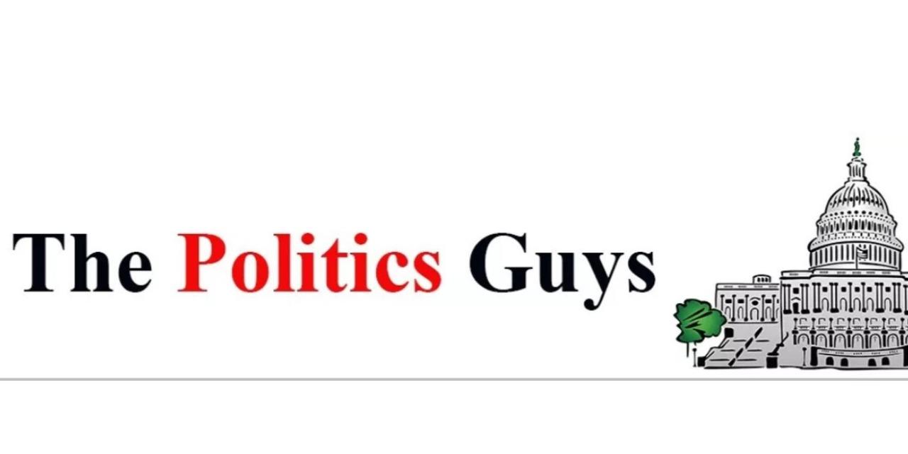 The Politics Guys logo