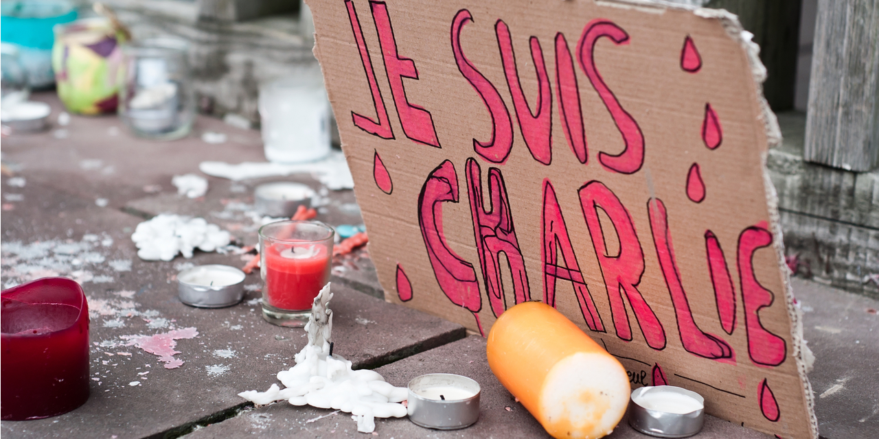 Je Suis Charlie Hebdo sign