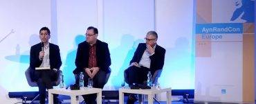 Onkar Ghate, Gregory Salmieri, Flemming Rose on free speech panel in Prague AynRandCon