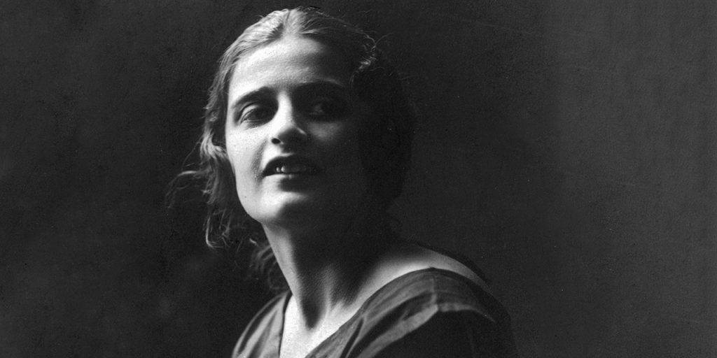 Ayn Rand in her 20s