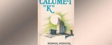 """Calumet """"K"""" book cover"""