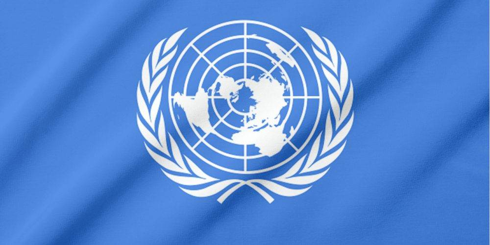 Flag of the United Nations UN