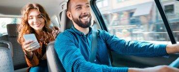 Uber driver and ride - gig economy ab5