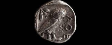 Athena owl Greek coin