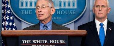 Fauci, Pence at White House press conference