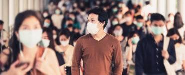 wearing mask in public