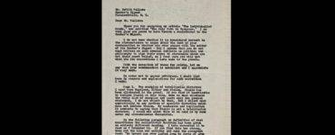 Ayn Rand to DeWitt Wallace letter