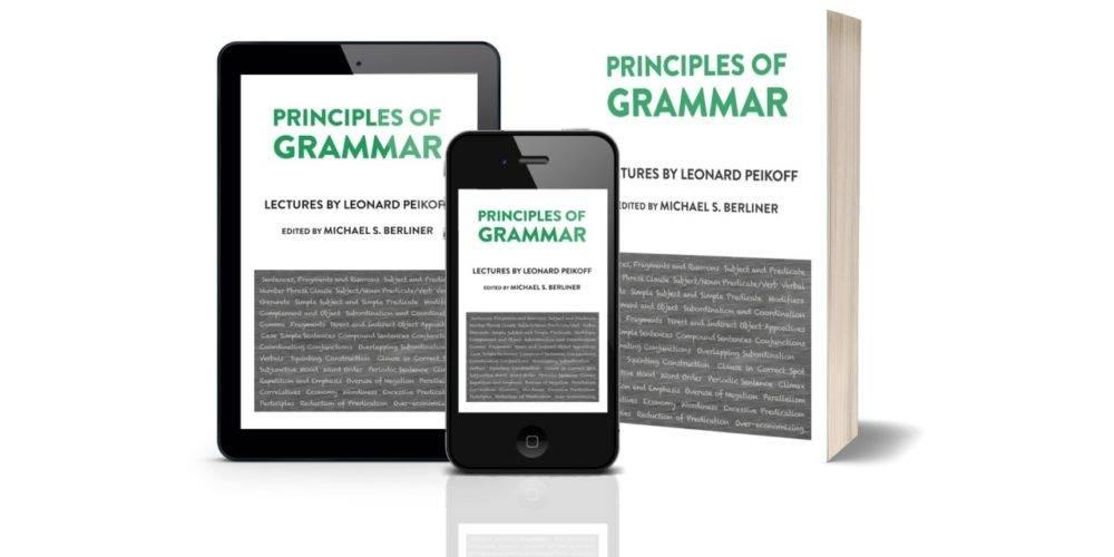 Peikoff Principles of Grammar