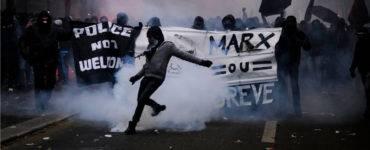 Anti-police riot