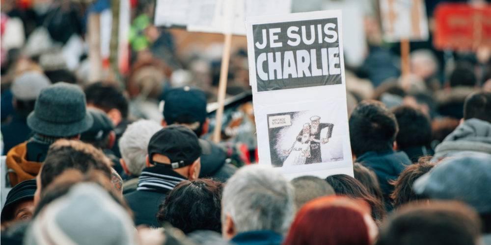 Charlie Hebdo Je Suis Charlie sign