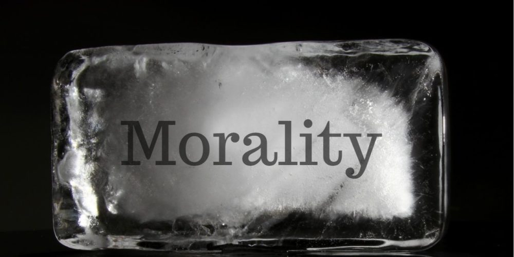 Morality in block of ice