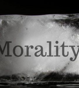 Morality in block of ice