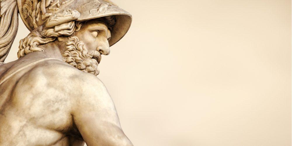 Statue head classics whiteness
