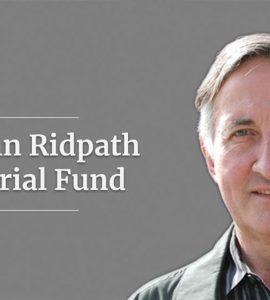 John Ridpath Memorial Fund