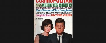 Cosmopolitan cover - Money making personality