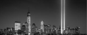 9/11 towers spotlight memorial