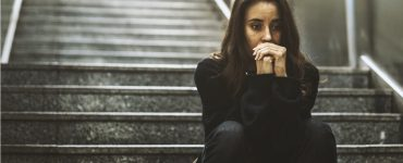 Texas abortion law - pensive woman